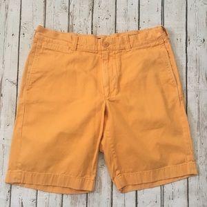 J. Crew Orange Stanton Short